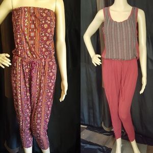 2 for 1 Jumpsuits Size Medium